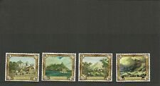 PITCAIRN ISLANDS 2015 SG925-928  PICTAIRN ON CANVAS SET MNH