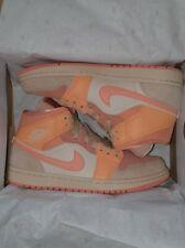 Nike Jordan 1 Mid Apricot Orange UK 7