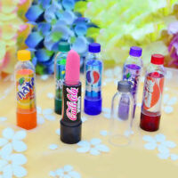 6Pcs Lip Balm Soda Pop Drink Bottle Magic Colour Changing Color Flavoured Lip