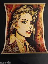 Shepard Fairey - Obey - Debbie Harry 'Canvas' Art Print - Signed - ARTIST PROOF