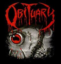 OBITUARY cd cvr CAUSE OF DEATH Official SHIRT MED New nbp
