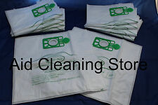 10 BAGS TO FIT Numatic Charles George Edward Vacuum Hoover 604016 NVM2BH ECO FLO