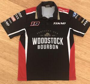 Men Tekno Woodstock Bourbon Shirt Size S