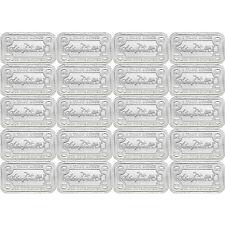 SilverTowne Money Bars 1oz .999 Silver Bar 20pc