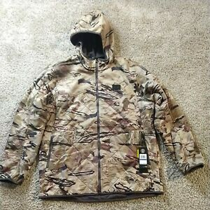 NWT $170 Under Armour Mens Barren Camo Brow Tine Jacket 1355316-999 Size XLarge