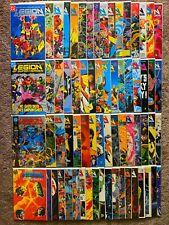 Legion of Super-Heroes 1-63 + Annuals 1-4 VF/NM Complete Set DC Comics Lot of 67