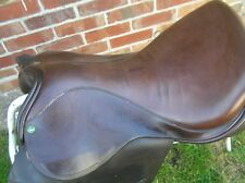 """18"""" X-WIDE FIT IDEAL GRANDEE SADDLE IN HAVANNA"""
