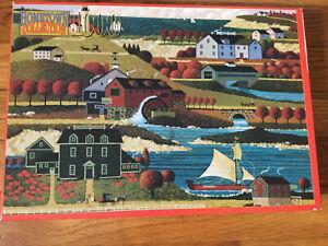 Hometown Collection PORT CITY 1000 Piece Jigsaw Puzzle Heronim Wysocki