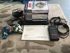SONY PLAYSTATION 2 (PS2) BLACK SLIM CONSOLE + 1 CONTROLER 8 GAMES