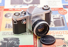 (31) RARE Pentax AP/Tower 26 w/58/2.4 lens & cap, CLA'd, collector's grade LOOK!