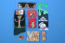 Groot Socks Siimpson's Wallet Ghostbusters Door Hanger Sf Headband Lot