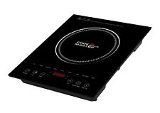 Cookmaster Portable Induction Cooker Digital Display Single Electric Hot Plate