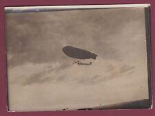 PHOTO RAPID FILIATRE 160515 -aviation SEMAINE DE REIMS dirigeable VILLE DE NANCY