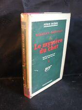Stanley Gardner: Le mystère du chat (série bleme n°17) Gallimard jaquette (BEG)