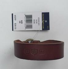 Ralph Lauren polo mens leather bracelet wrist strap brown nwt $39