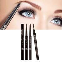 Waterproof Drawing Eye Brow Eyeliner Eyebrow Pen Pencil Makeup Brush U8U6