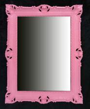 Espejos decorativos rojos rectangulares para el hogar