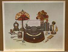 Nine To Five CW Vittitow Secretarial Occupational Antique Typewriter Ky artist