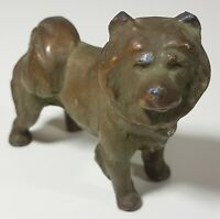 Vintage Antique Chow Chow Dog Sculpture Statue