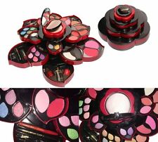 Miss Rose Ultimate Colour Make Up Kit Set Opens As A Rose Bridal party Club Use