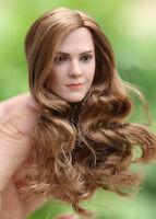 1:6 Hermione Emma Watson Woman Figure New Version Head Sculpt Models Toys Action
