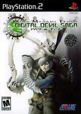 Shin Megami Tensei Digital Devil Saga (Game Only) PS2 New Playstation 2