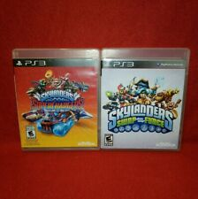 Skylanders PS3 LOT! Superchargers & Swap Force (Playstation 3)