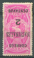 GUATEMALA Yv # 94 Inverted Overprint Mint Hinged VF