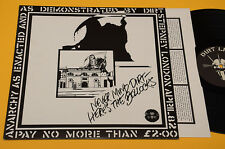 HERE'S THE BOLLOKS LP NEVER MIND DIRT 1°STAMPA ORIGINALE TOP EX++