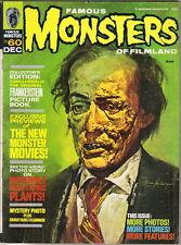Famous Monsters of Filmland Magazine #60, Warren 1969 VERY GOOD+