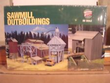 WALTHERS #3144  Sawmill Out-Buildings - Building Kit  H.O.Gauge