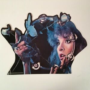 STEVIE NICKS Bella Donna Promotional Die Cut Display Vintage RARE