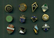 """Early 1900's Secret Societies & Fraternal Organizations """"Mystery"""" Pins Group"""
