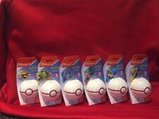 New Series 3 Mega Construx Pokemon Pokeballs Lot Set of 6 Spinarak Crabrawler...