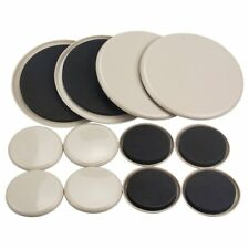 12PCS Furniture Movers 3.5 Inch And 7 Inch Plastic Sliders Multi Sizes For