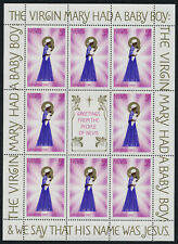 Nevis 118-20 sheets MNH Christmas, Angel
