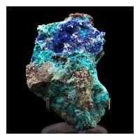 Azurit+Dioptas+Chrysokoll. 205.0 Ct. Milpillas Mine,Sonora,Mexiko