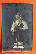 La Serbie Srbija AK vlasinka Environmental sourdoulica 1912 costume traditionnel vêtements femme +++