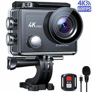 Ct9900 Action Kamera 4k 60fps Mikrofon 8x Zoom Ultra HD Eis Touch