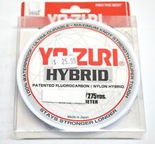 Yo-Zuri Fluoro Carbon/Nylon Hybrid FISHING LINE HYBRID 275YD - Colour : Smoke