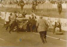 24 HEURES DU MANS - Accident TRIUMPH de Rothschild - PRB 203