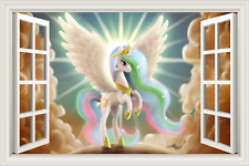 My little Pony Friendship is Magic Window View Decal Wall Sticker Home Decor