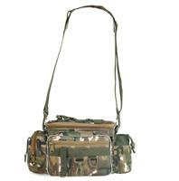 Large Camo Tackle Bag Multifunction Holdall Travel Carp Coarse Fishing Carryall