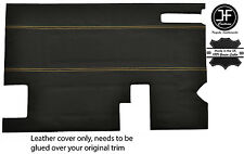 Tan Stitch PORTELLONE PORTA CARTA Trim LTHR Copertura Per Land Rover Defender Stile 2