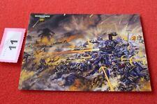 Juegos taller Warhammer 40k 30th aniversario obras de arte Tarjeta Arte Nuevo Postal A1