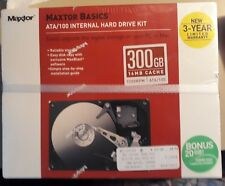 MAXTOR BASICS 320 GB 16 MB 7200 RPM ATA /100 INTERNAL HARD DRIVE KIT - SEALED.