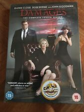 Damages - Series 4 - Complete (DVD,3-Disc Set) New And Sealed
