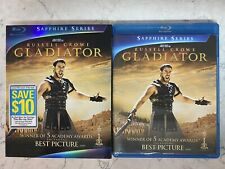 Gladiator (Blu-ray Disc, 2009, 2-Disc Set, Sapphire Edition) with Slipcover