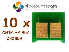 10x Chips De Reinicio De Tóner Para HP CE285A 85A P1102 P1102w M1132 M1212nf M1217nfw