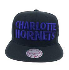 Charlotte Hornets NBA Mitchell Ness Hardwood Classics Retro Snapback Hat Cap